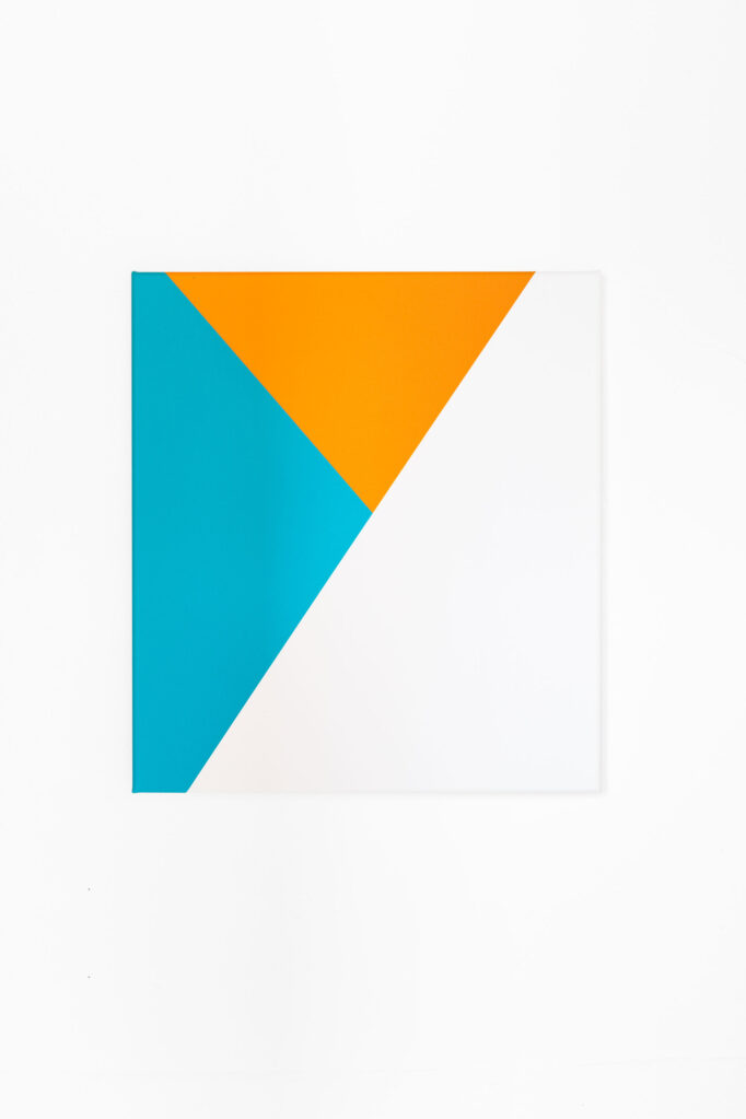 Sans Titre, 2018 • acrylic on canvas, 47 x 43 cm