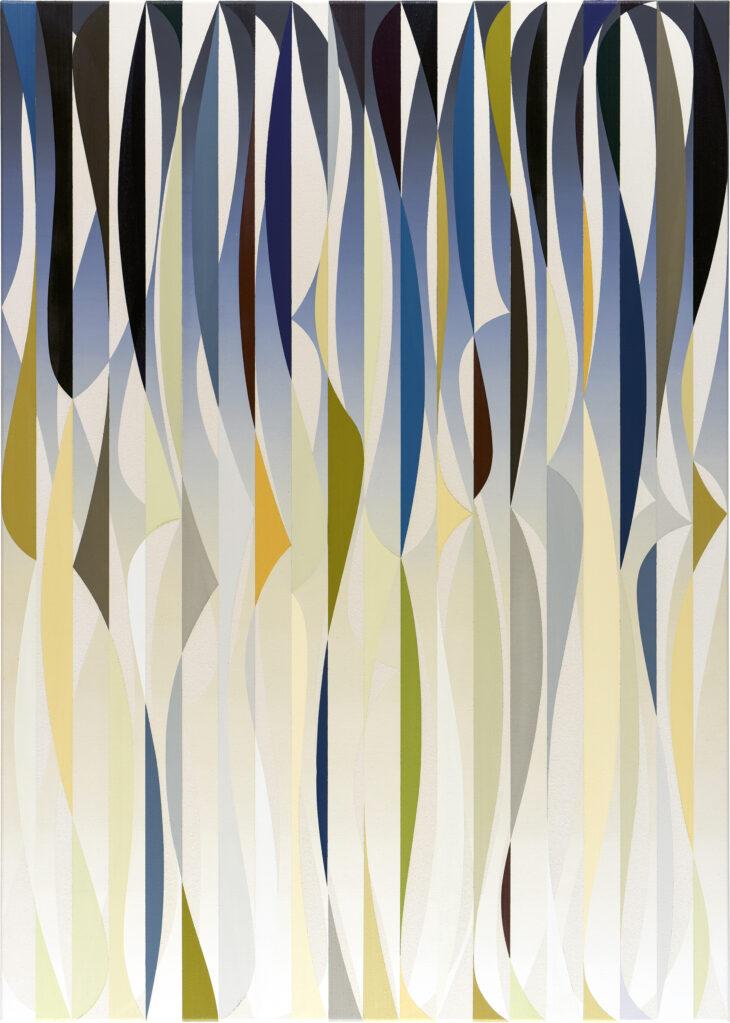 Accord 2, 2020 • mixed media on cotton, 140 x 100 cm