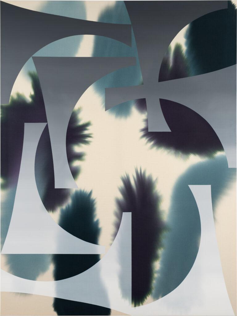 Accord 7, 2020 • mixed media on cotton, 240 x 180 cm
