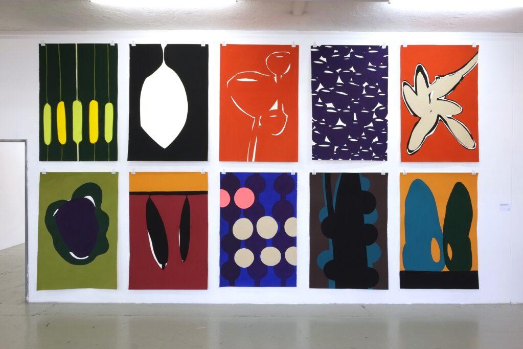 Werkschau Canton of Zurich, 2014 • exhibition view at F+F Art School, Zurich (CH)