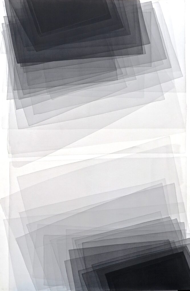 Untitled, 2012 • water colour on Arches paper, 152 x 101 cm
