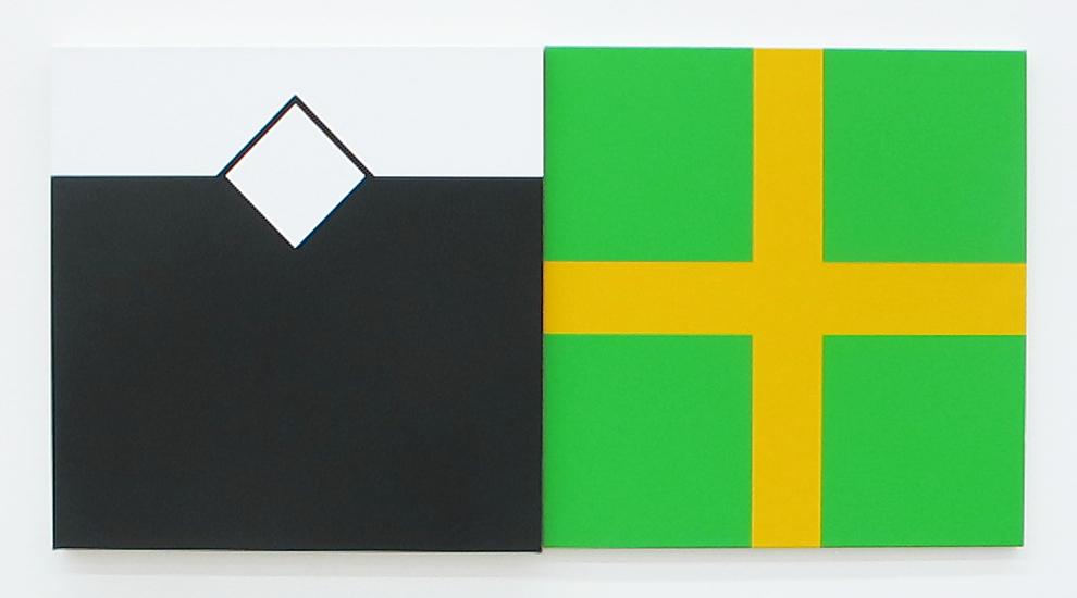 Sans Titre, 2016 • acrylic on canvas, 70 x 140 cm
