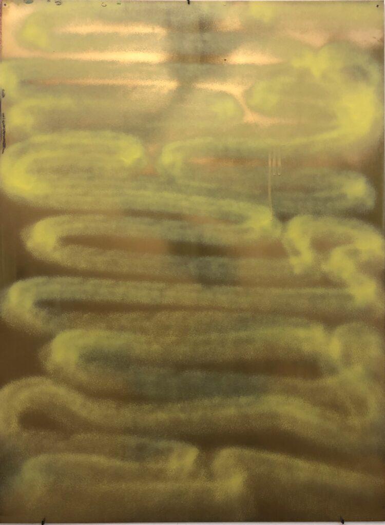 Ohne Titel, 2001 • oil on aluminium, 76 x 56 cm