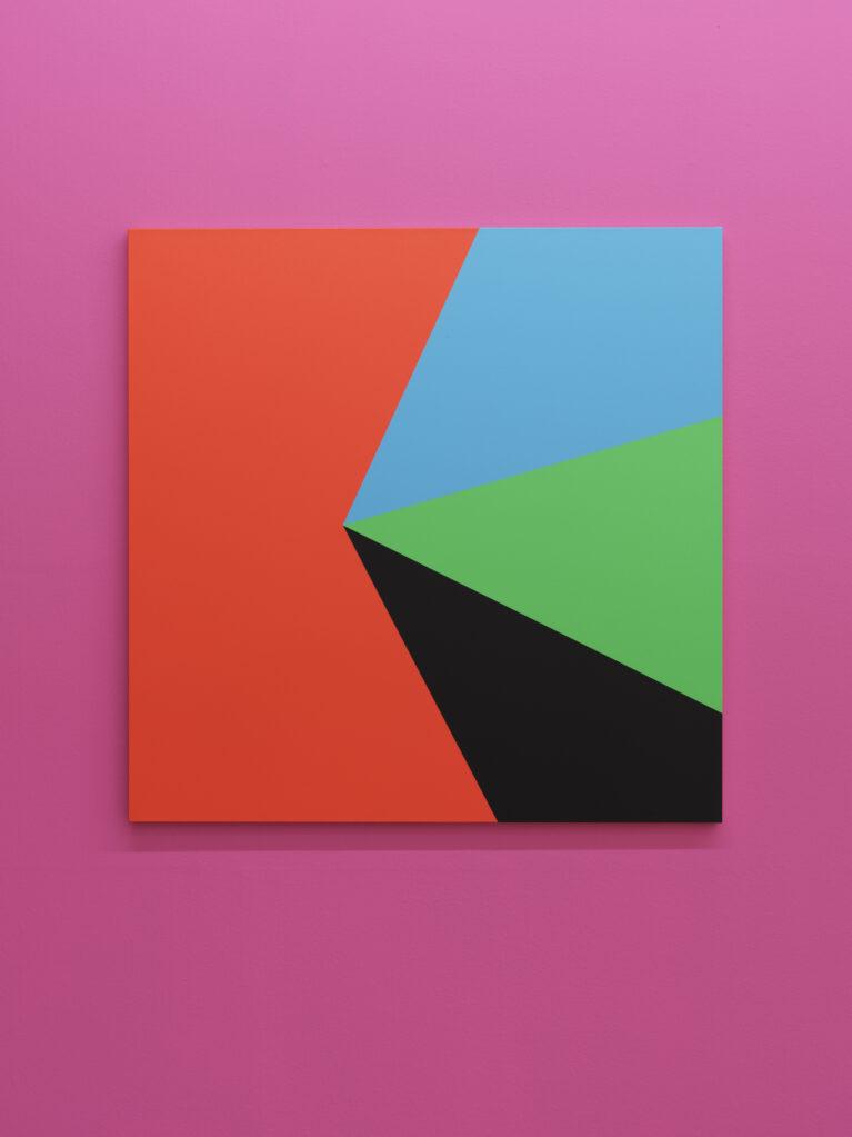 Sans Titre (pour Pierre Keller), 2019 • acrylic on canvas, 130 x 130 cm