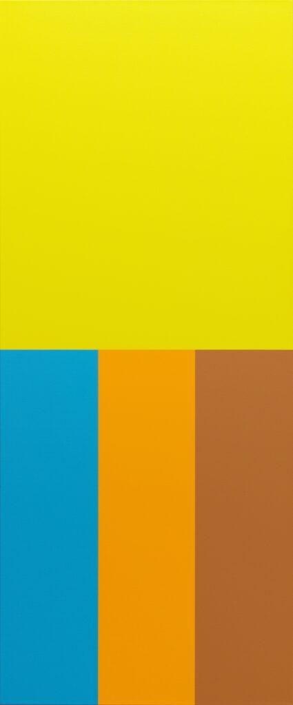 Sans Titre (Caran d'Ache), 2019 • acrylic on canvas, 169.5 x  cm