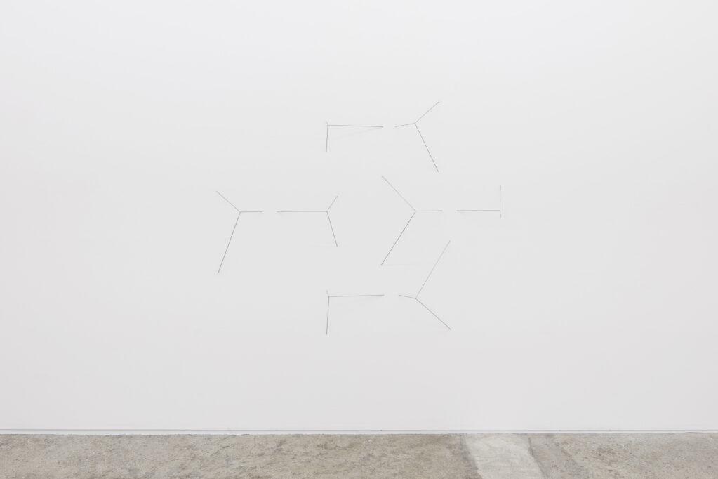 cut off, 8-teilig, 2018 • steel, 164 x 204 x 22 cm