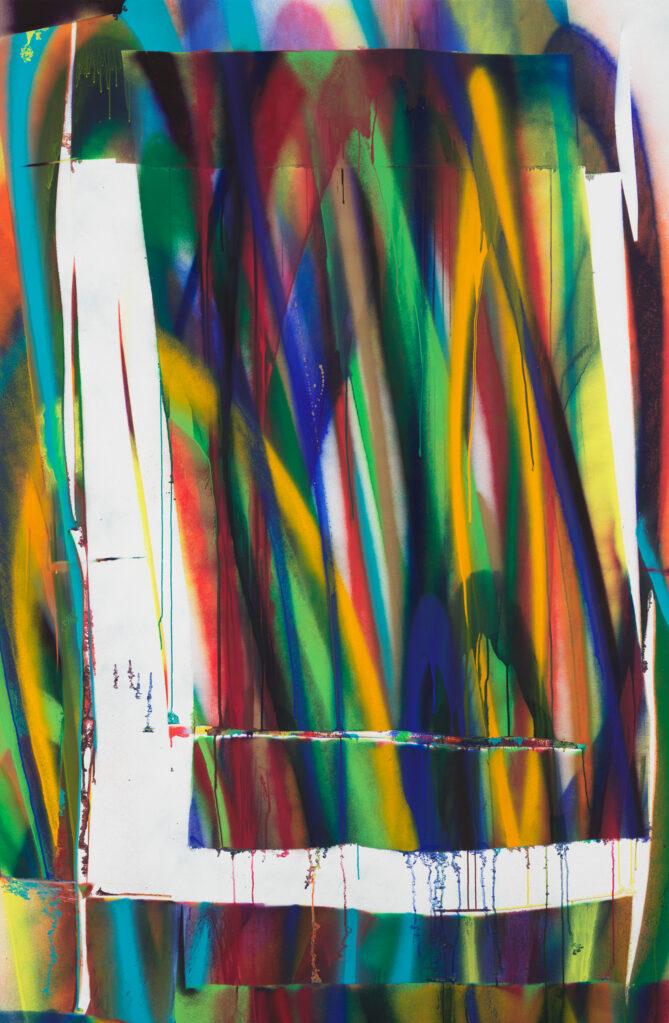 Ohne Titel, 2018 • acrylic on canvas, 240 x 157 cm
