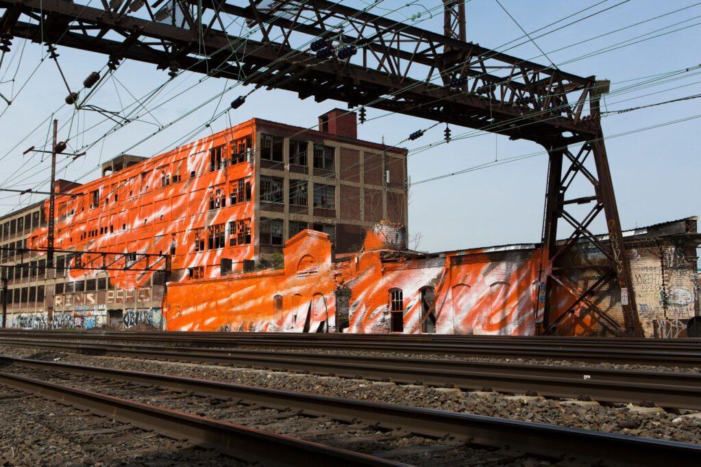 The Warehouse, 2014 • Installation view at the Philadelphia, Pennsylvania (USA)