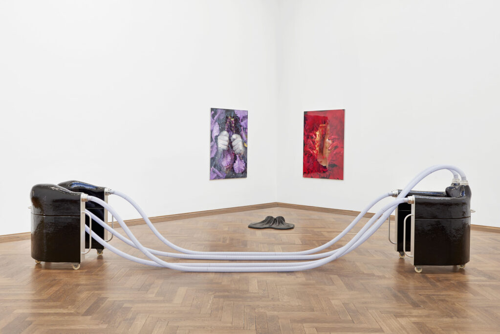 Ungestalt, 2017 • installation view at Kunsthalle Basel (CH)