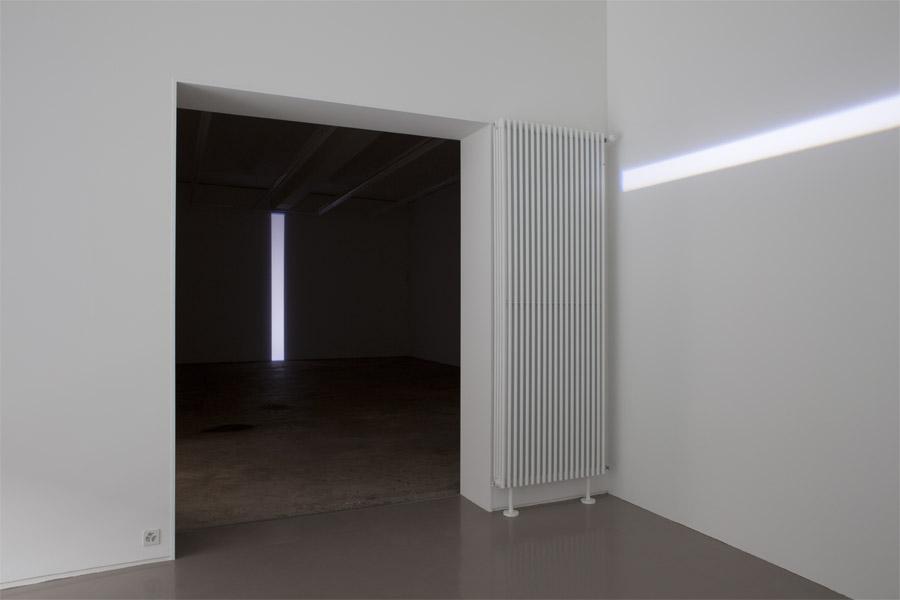 Exhibition view • Michel Verjux, «Respiration», 2011