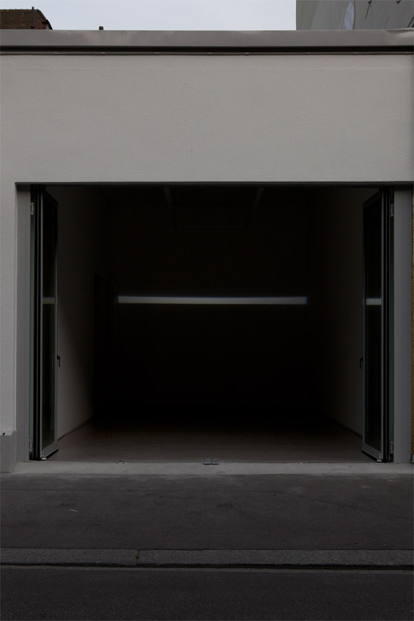 Exhibition view • Michel Verjux, «Respiration», 2011