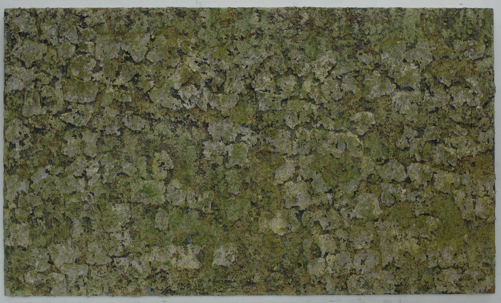 Nr. 394, 23.12.2008 – 8.1.2015 • oil on plywood, 140 × 240 cm