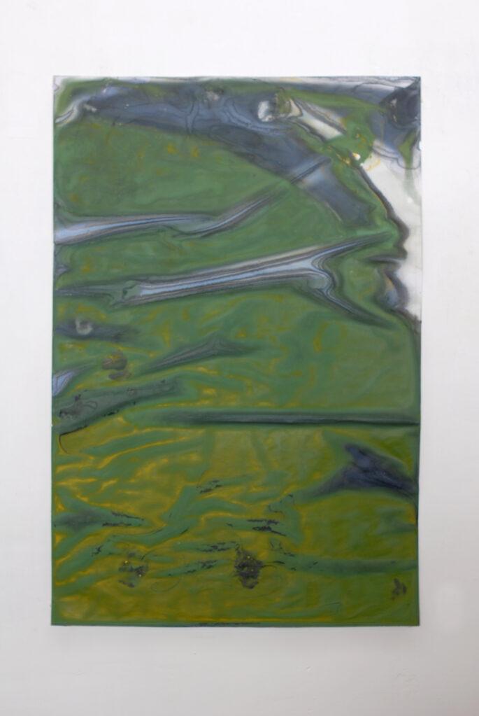 Wasserzeichnung Nr. 147, 5.3.2016 - 17.1.2017 • watercolour on paper, 95 x 63.5 cm