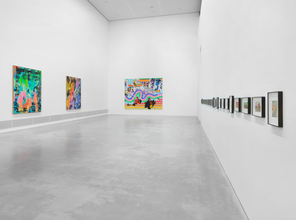 Fred Thieler Preis 2017 • installation view at Berlinische Galerie, Berlin (D)
