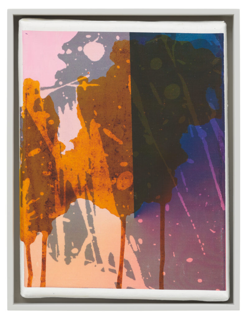 Übertragung_18, 2021 • mixed media on canvas, 26.5 x 20.5 x 3.5 cm