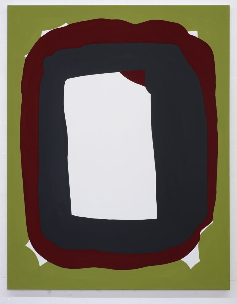 LW101, 2018 • distemper on cotton, 140 x 110 cm