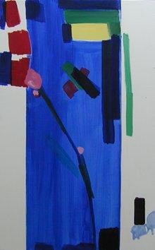 Ohne Titel, 1993 • oil on canvas, 180 × 114 cm