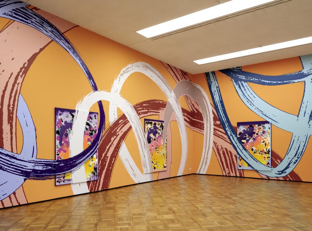 Lange Arme, kurze Beine, 2019  • installation view at Kunstmuseum Thun (CH)