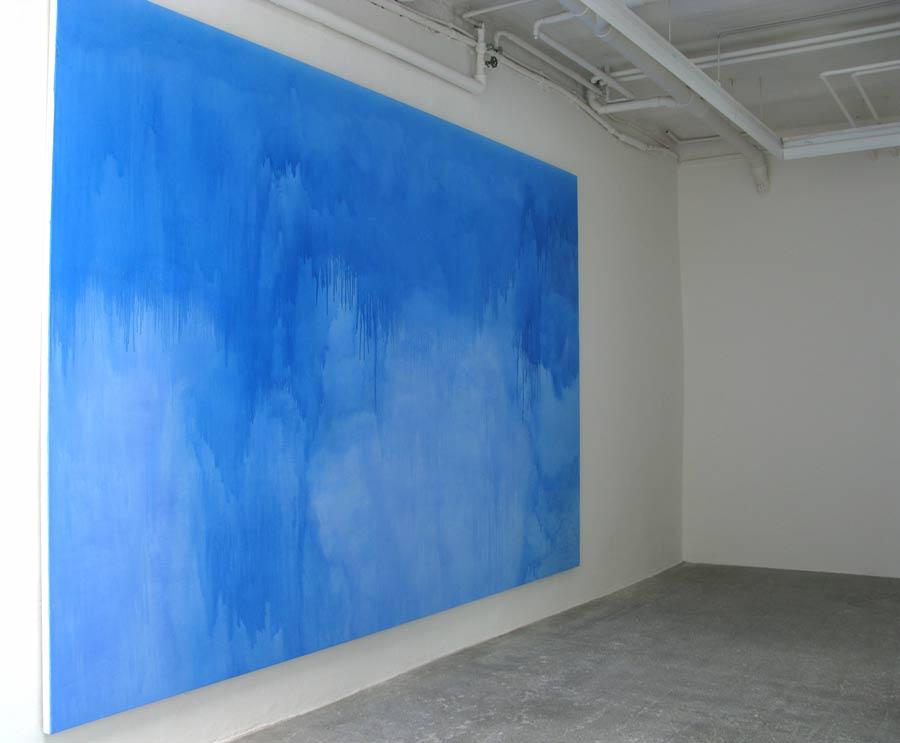 Malerei, 2008 • acrylic on linen, 260 × 480 cm