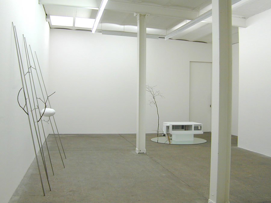 Group show together with Knut Eckstein and Monika Brandmeier, 2007 • installation view Galerie Mark Müller, Zürich
