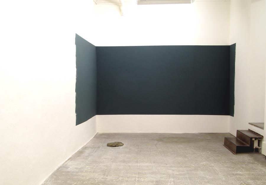 Auswärts, 2008 • installation view Galerie Mark Müller, Zürich