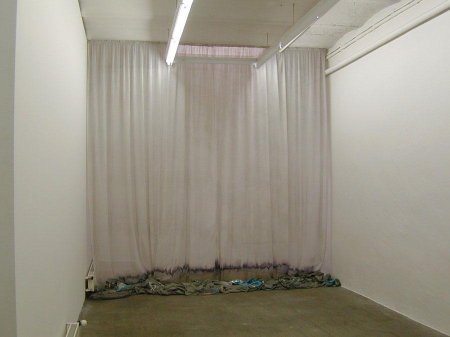 Tiefes Rauschen, 2007 • installation view Galerie Mark Müller, Zürich
