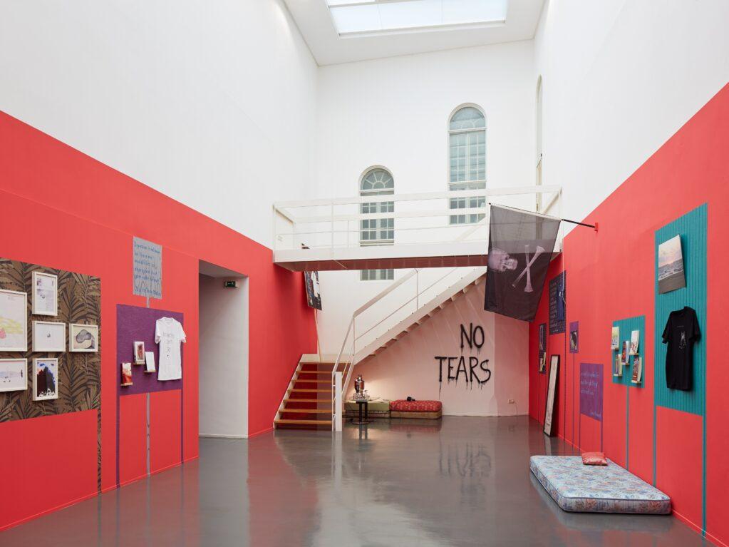 an unhappy archive, 2014 • installation view at Badischer Kunstverein, Karlsruhe (DE)