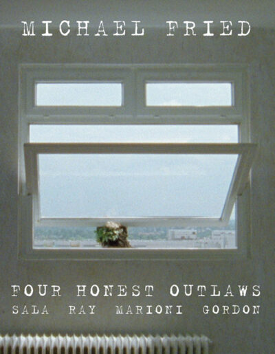 Four Honest Outlaws, book cover