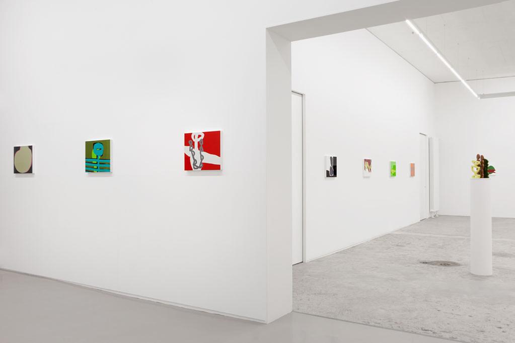 Exhibition view • Markus Weggenmann, «Im Hasenbart», 2012