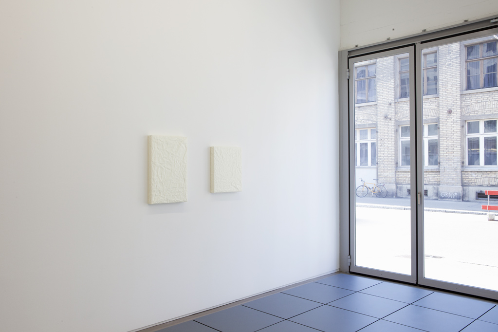 Exhibition view • Tilo Schulz, «Facing the blank...», 2012
