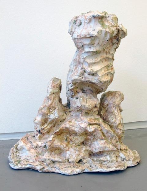 untitled, 1987 • plaster, 36 × 34 × 20.5 cm