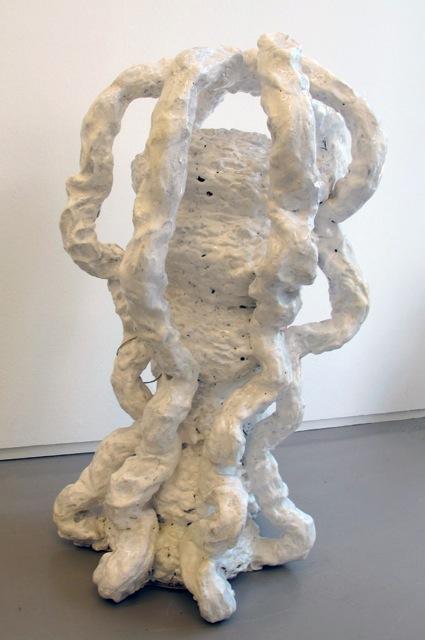 Der Tänzer als Bildhauer, 1993 • glazed terracotta, 65 × 35 × 35 cm