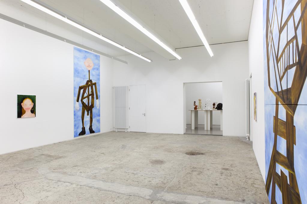 Exhibition view • Heike Kati Barath, «mannomann», 2012