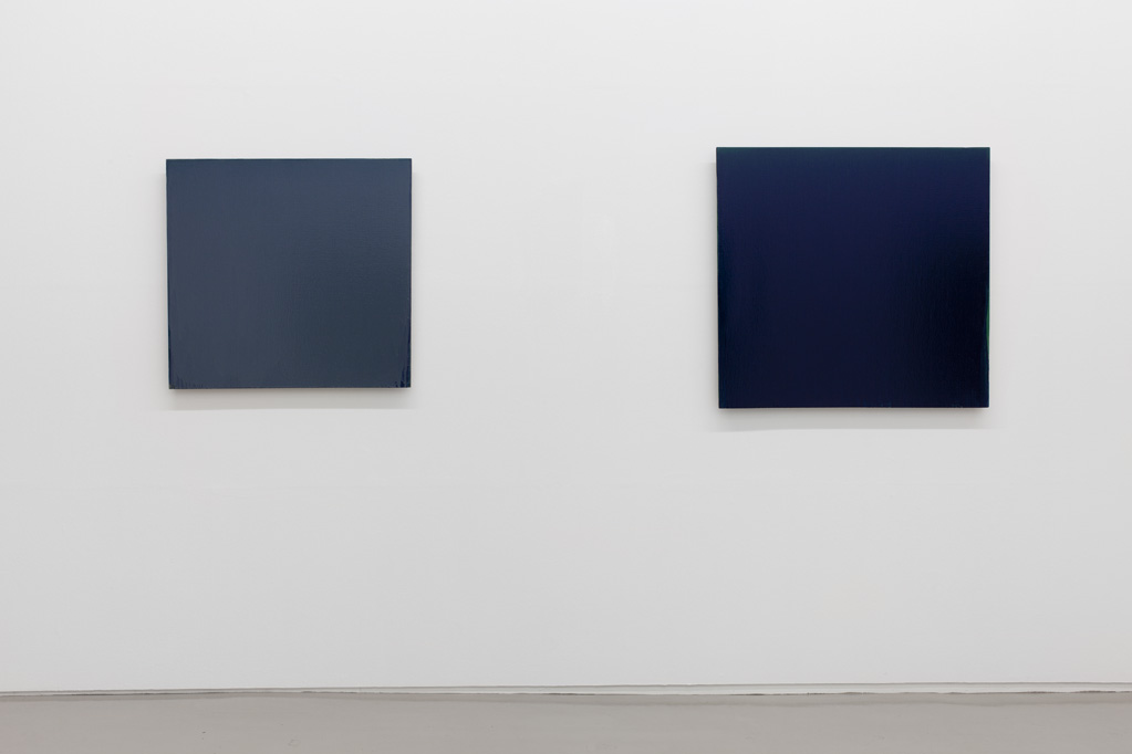 Exhibition view • Joseph Marioni «Painting at Seventy», 2013