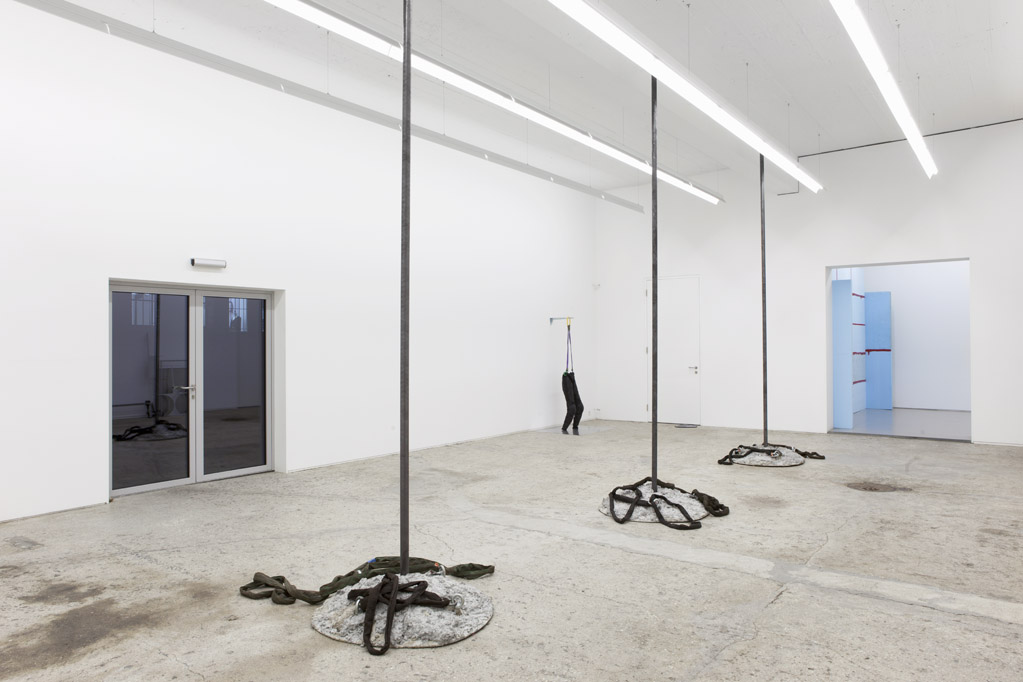 Exhibition view • Reto Boller «Verlorene Form», 2013