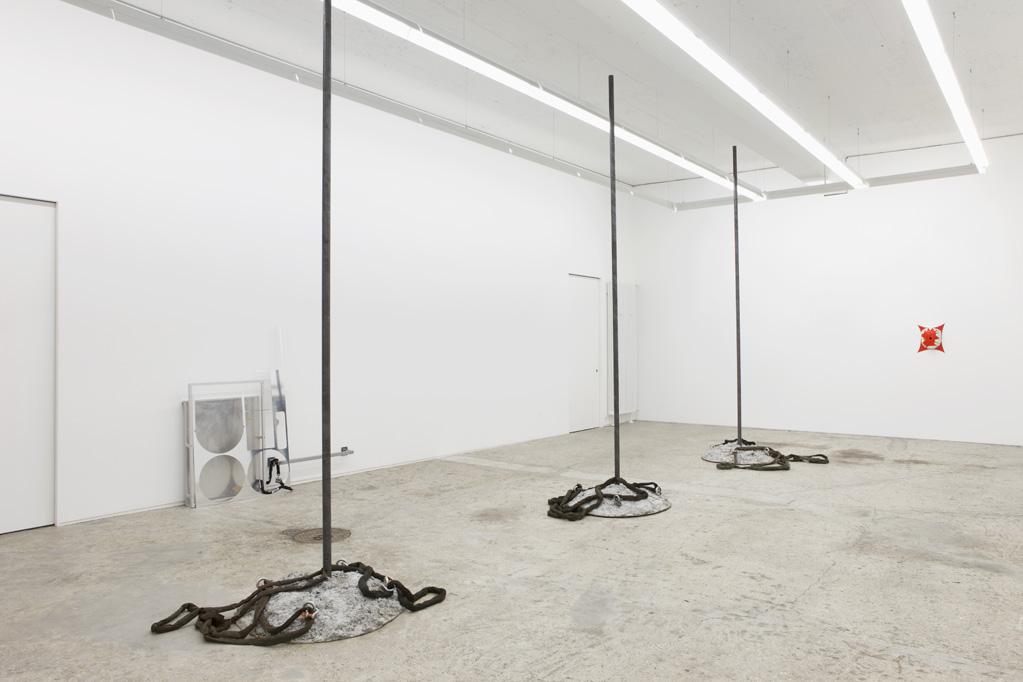Exhibition view • Reto Boller «Verlorene Form», 2013