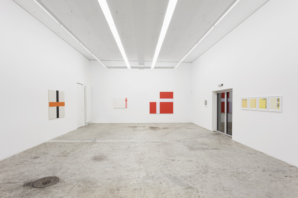 Exhibition view • Francis Baudevin, 2014