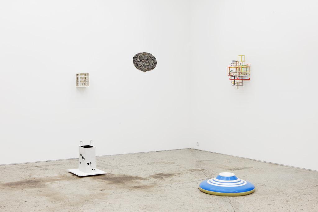 Exhibition view • Axel Lieber «Role models, schwarze Löcher und andere Petitessen», 2014
