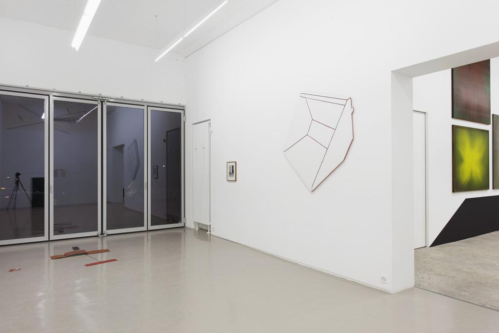 Exhibition view • Monika Brandmeier «Reflexbox», 2014