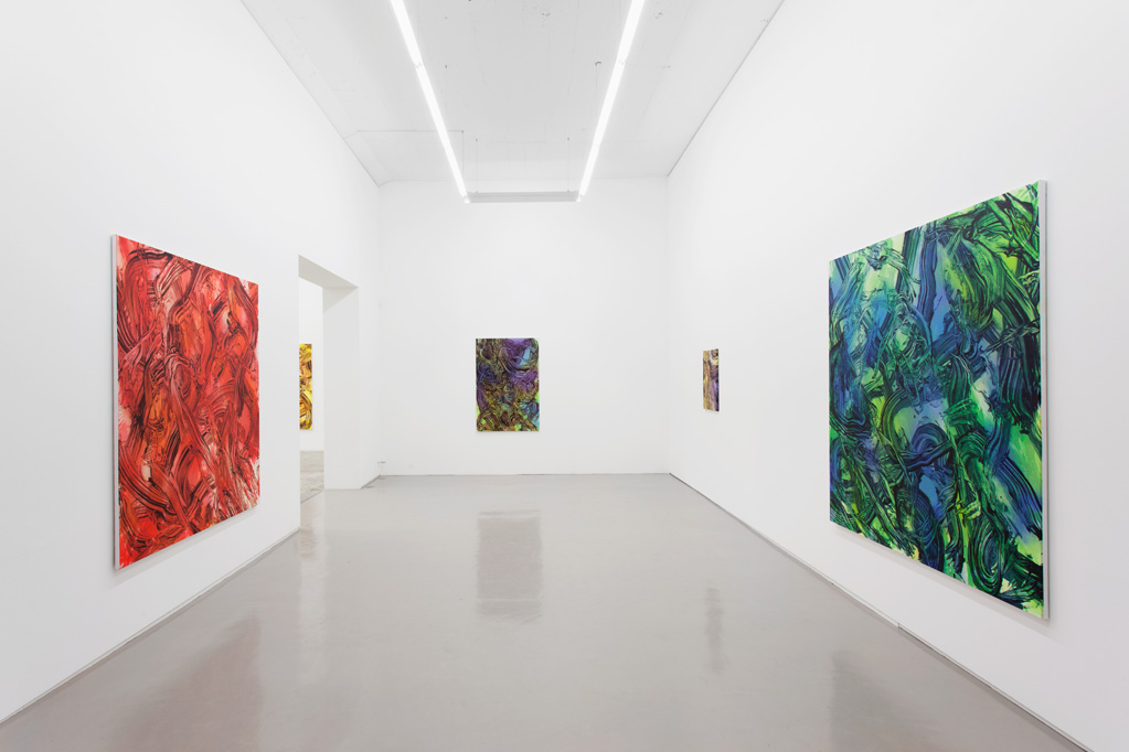 Exhibition view • Judy Millar «Paintings», 2014