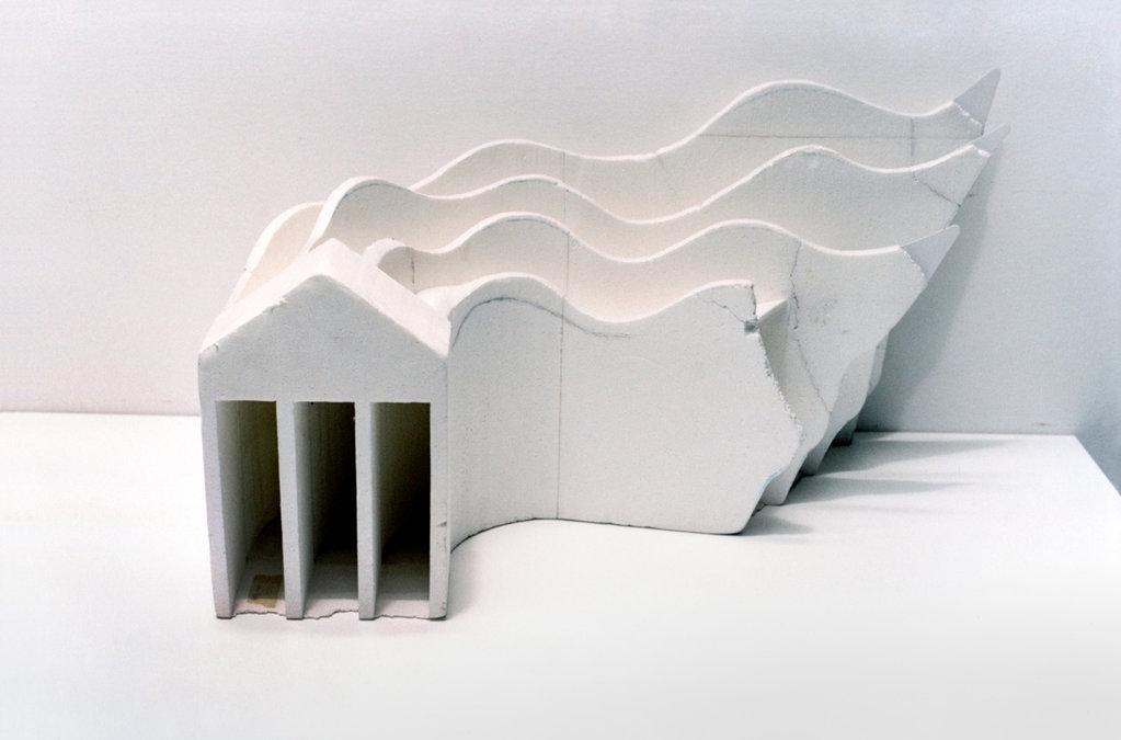 Utopisches Modell (Saachi), 2013 • inkjet print, 63 × 93 cm