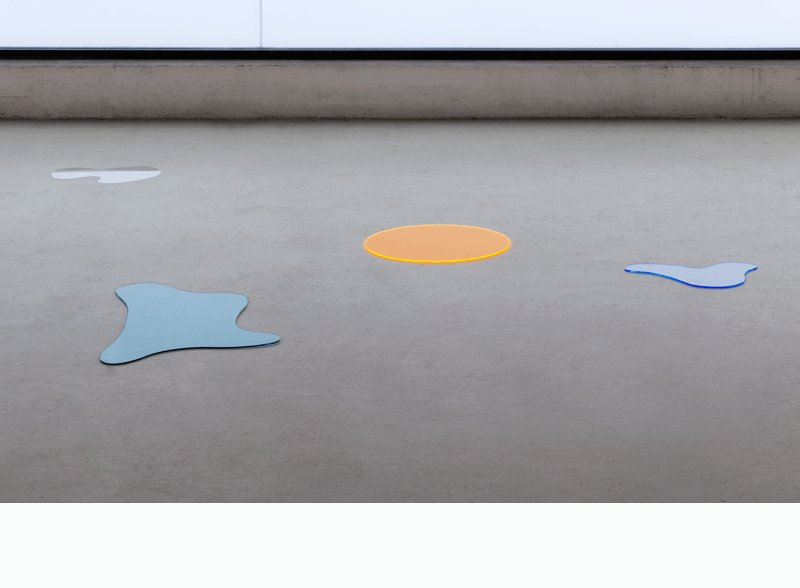 Puddles Puddles (Group n. 1), 2014 • acrylic-glas (4 parts), dimensions variable