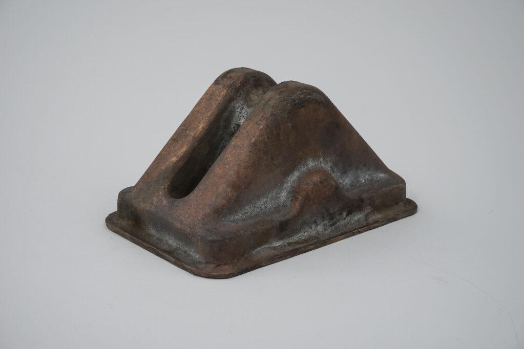 Vestige du Jour N° 2, 2020 • bronze casting, 18 x 24 x 12 cm (Photo: Kunstgiesserei St.Gallen)