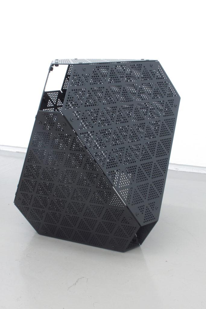 Objet Noir N°1 2018 • aluminum black anodized, 53 x 50 x 46 cm, edition 1/18