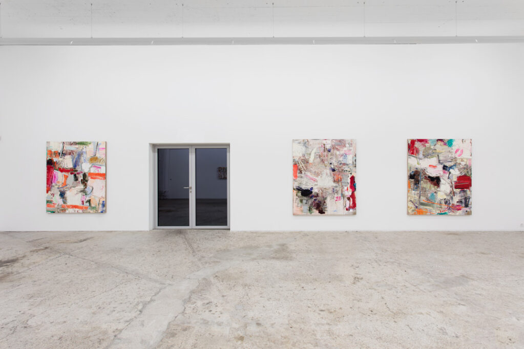 Exhibition view • Michael Toenges «MALEREI», 2016