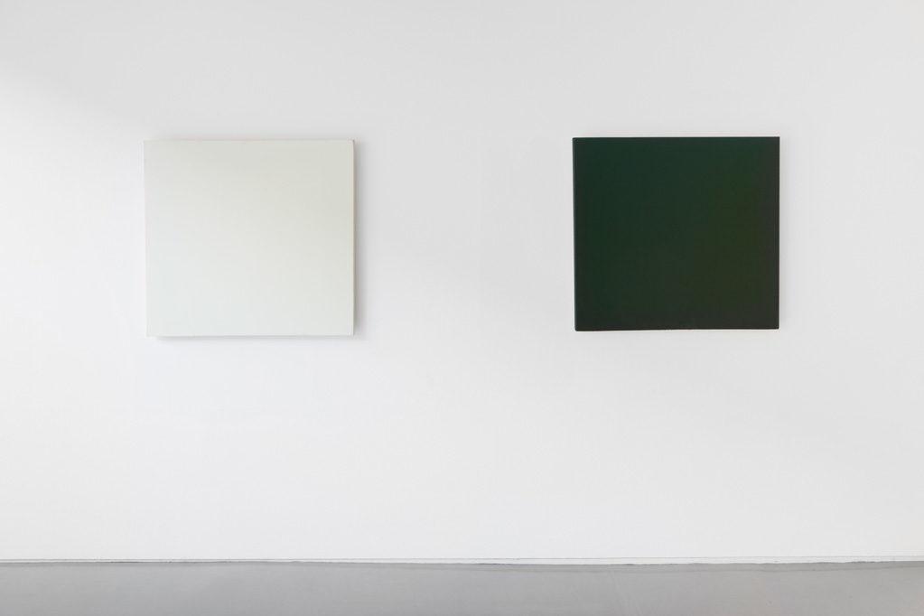 Exhibition view • Joseph Marioni «6 Paintings», 2017