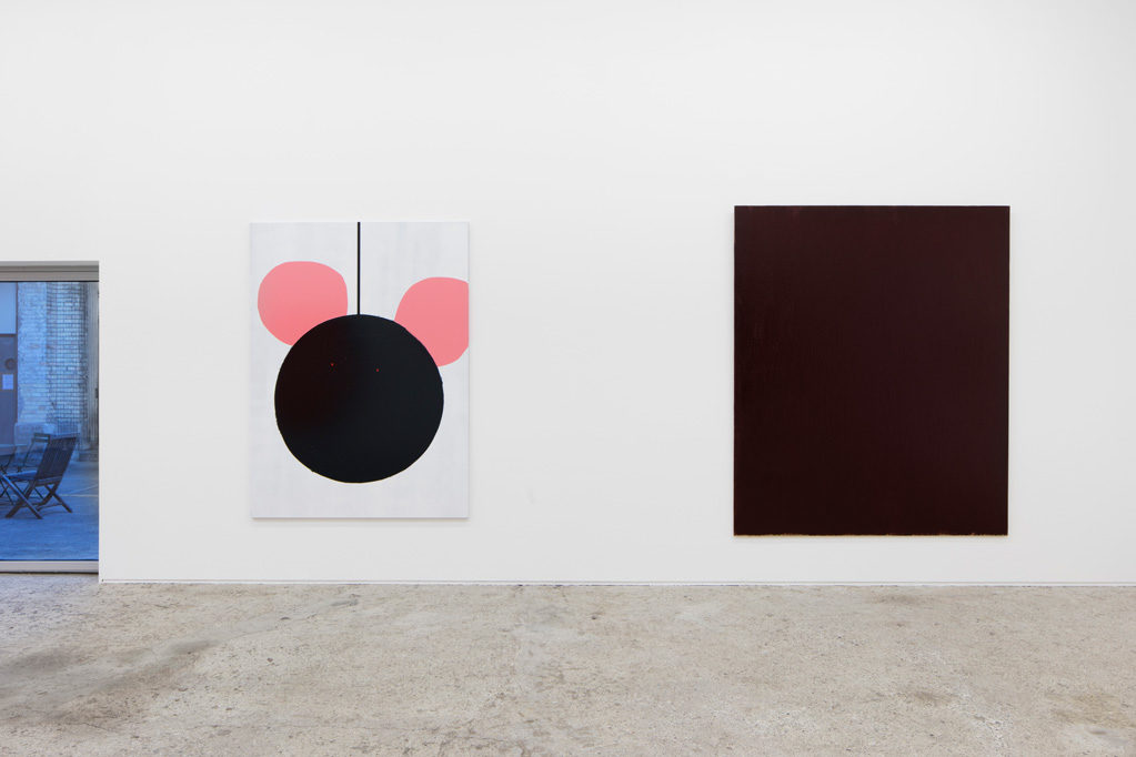 ...and more paintings..., 2017 • Installation view at Galerie Mark Müller