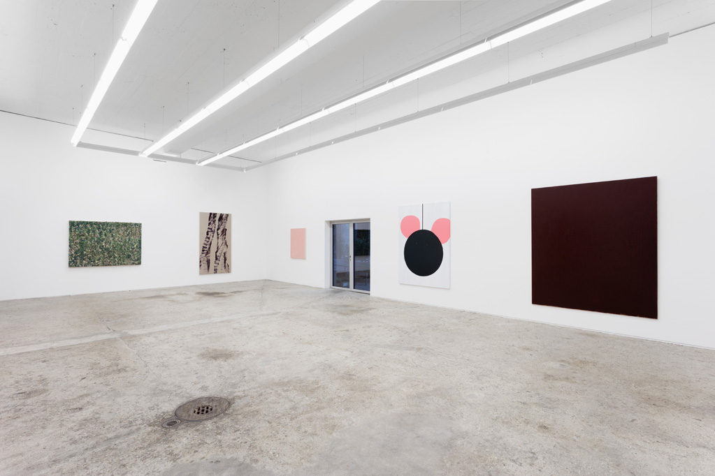 Exhibition view • «...and more paintings...», 2017