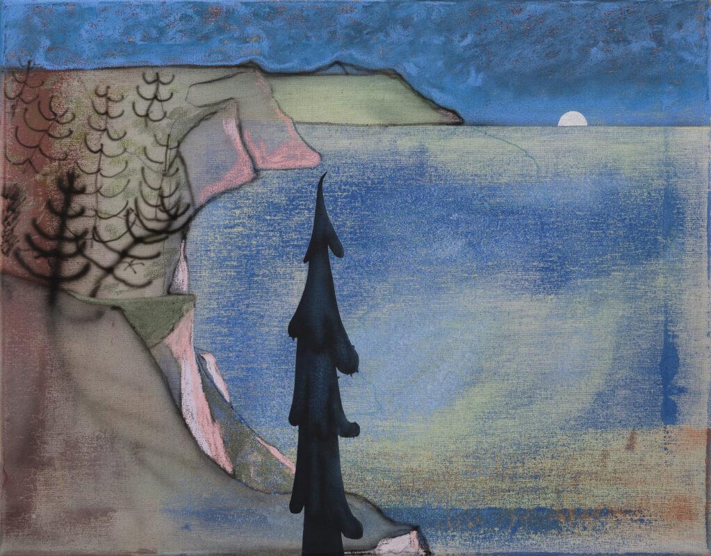 Common Ground, 2021 • acrylic on canvas, 60 X 47 cm