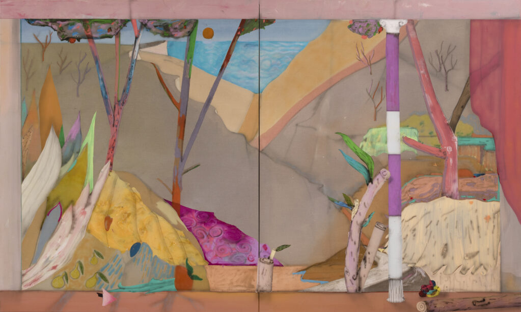 Tall Grass, 2021 • acrylic on canvas, 120 X 200 cm